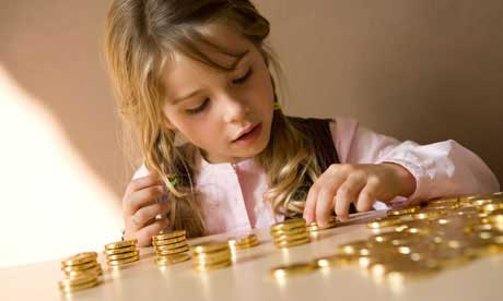 Investing money for your child
