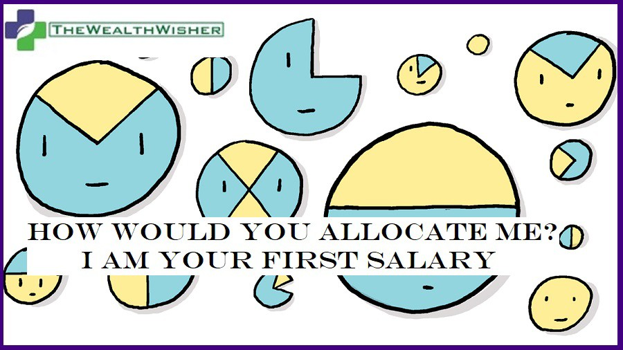 how to spend first salary
