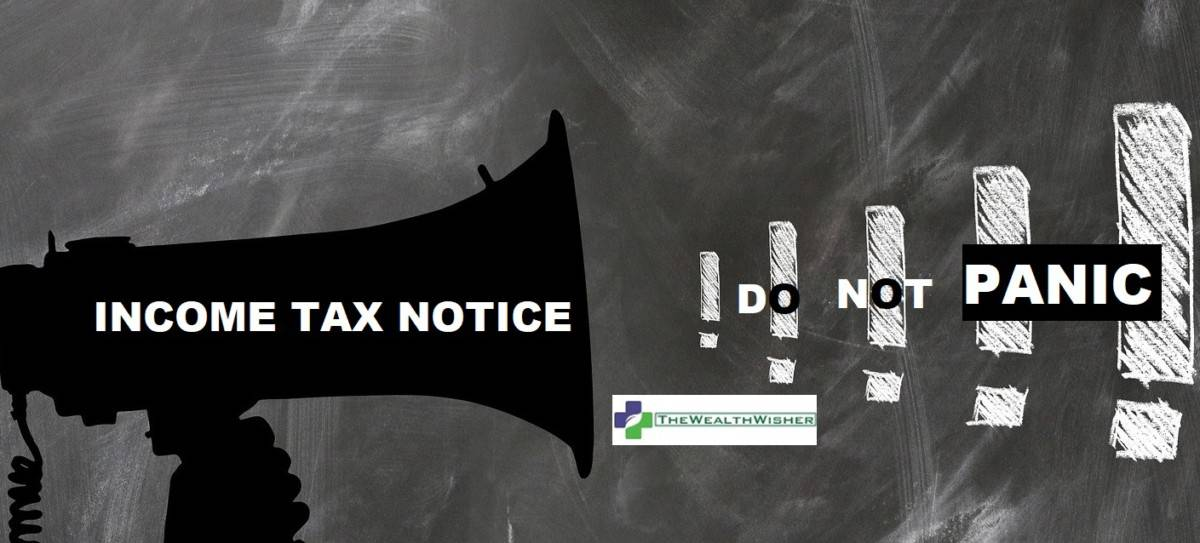 income tax notice intimation